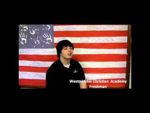 Victory Christian Academy Student Testimony 2 27 12