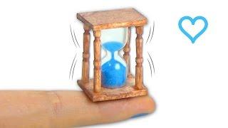 Miniature hourglass (actually works!) DIY - Tutorial - YolandaMeow♡