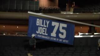 Billy Joel MSG 75 Banner Raising (May 27, 2016)