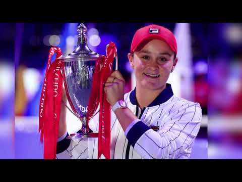 لاعبة كرة المضرب الأسترالية آشلي بارتي تعلن نهاية موسمها