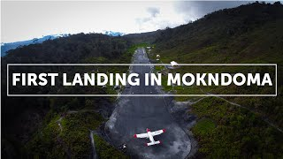 Video First Landing in Mokndoma (Papua, Indonesia) MP3, 3GP, MP4, WEBM, AVI, FLV Oktober 2018