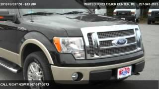 2010 Ford F150 Lariat - for sale in BANGOR, ME 04401