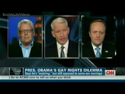 barack obama gay marriage - A 1996 questionnaire shows he supported same-sex marriage. Anderson Cooper talks with Paul Begala & Cleve Jones.