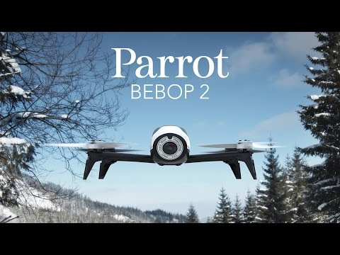 Dron PARROT Bebop 2 Czerwony  + Skycontroller Czarny