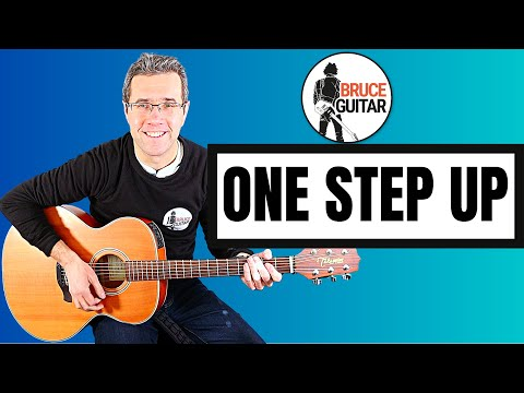 Bruce Springsteen - One Step Up guitar lesson