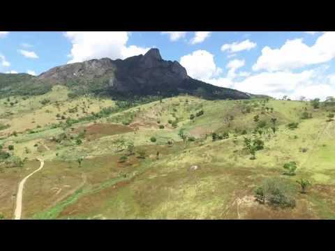 Serra de três pontas em Itarantim Bahia