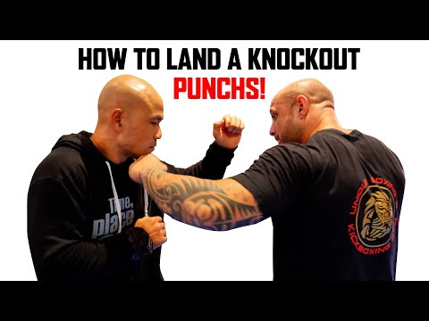 How to land a knockout punch | Master Wong