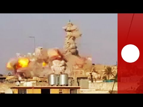 YouTube - Militants from Islamic State (formerly ISIS) destroyed the Shrine of Yunus (Tomb of Jonah) Mosque in Mosul on Thursday, July 24, residents of the Iraqi city said. News reports quoting residents...