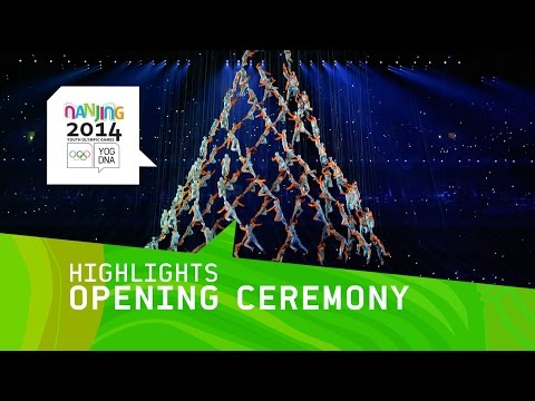 opening - Highlights from the Nanjing Youth Olympics 2014 Opening Ceremony Subscribe to the Olympic channel (http://bit.ly/1dn6AV5) and follow the best of the Nanjing 2014 YOG. Don't miss a single...