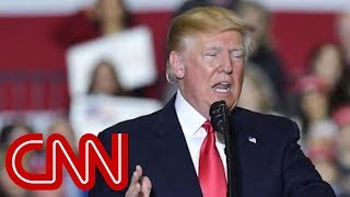 Trump: I'll be impeached if Democrats win midterms