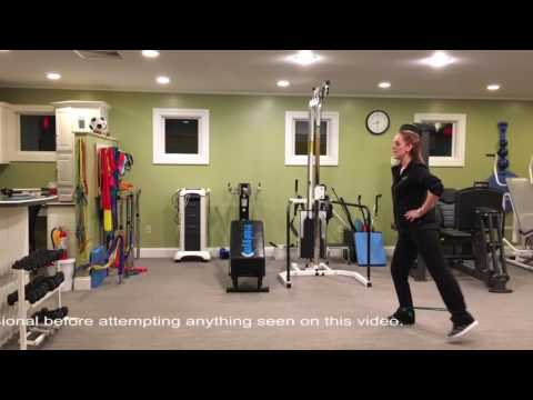 Physical Therapy exercises and conditioning for the hip