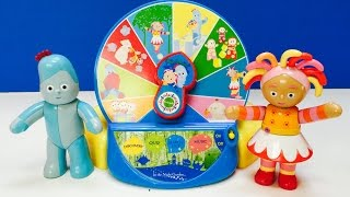 NEW In The Night Garden Talking Activity Wheel Toy Opening!