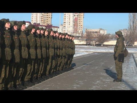 К 50-летию волгоградской роты Почетного караула. Выпуск 28.01.18.