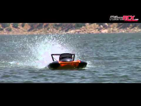 Exceed Racing Fiberglass Maximum Gas Powered Speed Boat