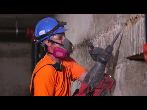 Видео Перфоратор SDS-MAX Milwaukee M18 CHM-0
