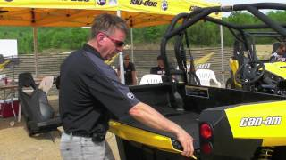 9. Can-Am Commander UTV Engineering Part 2 - Checking out the Commander 1000 UTV from CanAM