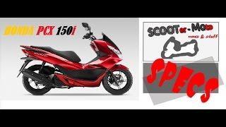 9. SPECS: HONDA PCX 150i specifications