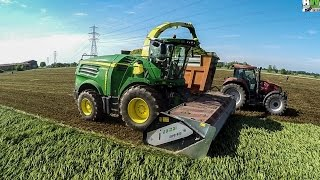Orzivecchi Italy  City new picture : JOHN DEERE 8800i - FIRST IN ITALY- news 2016 - SILAGE