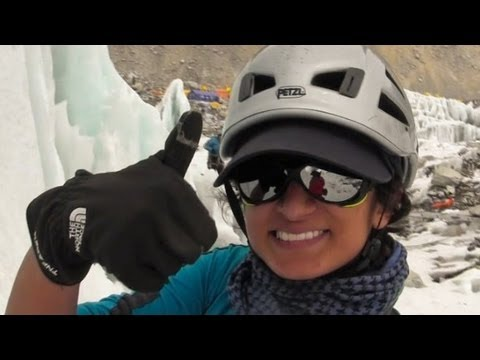 everest - Raha Moharrak makes history as the first Saudi woman to scale Mt. Everest. She talks to CNN from Mt. Everest Base Camp. For more CNN videos, visit our site a...