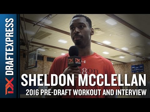 Sheldon McClellan Interview and Highlights from Octagon Pro Day