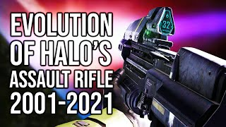 The evolution of Halo's Assault Rifle   Let's take a look at every version of the Halo AR