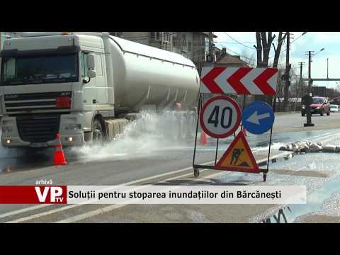 Soluții pentru stoparea inundațiilor din Bărcănești