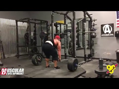 Dallas McCarver's 9 Week Out Back Workout