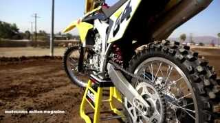 4. Motocross Action's First Ride on the 2014 Suzuki RMZ450