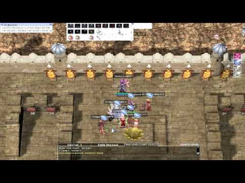 Ragnarok Online Warlock Level 255 Guild war / WOE Gameplay