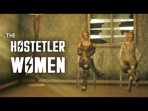 The Hostetler Women: A Family Crisis Turns Deadly - Fallout New Vegas Lore