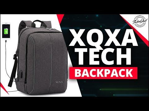 XQXA Backpack | A Compact Pack for all your Tech Goodies!!
