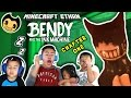 CARTOONS AREN'T SUPPOSED TO BE SCARY!!! BENDY AND THE INK MACHINE w/ Ethan, Emma, Aubrey & Aaron