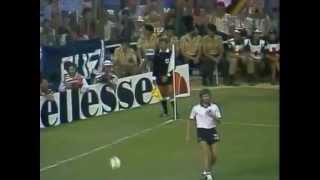WM 1982: Gaetano Scirea im Spiel gegen Deutschland
