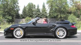 Porsche 911 Turbo S--Chicago Motor Cars Video Test Drive With Chris Moran 2012