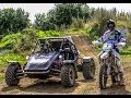 Graham Jarvis Vs The Stig || Rage Buggy Fitted With || Yamaha R1 Engine