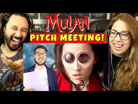 MULAN (Live-Action) PITCH MEETING - REACTION! [Screen Rant | Ryan George]