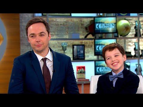 "Jim Parsons and Iain Armitage talk CBS' ""Young Sheldon"""