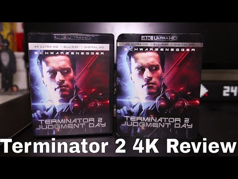 Terminator 2: Judgment Day 4K Blu-Ray Review