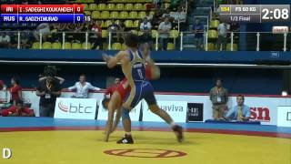 Amazing Take Down From Iranian Wrestler