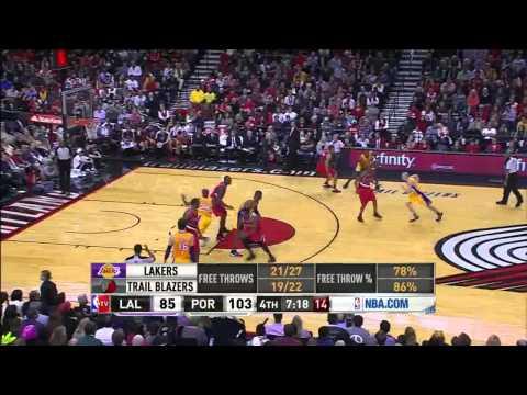 [HD] Kobe Bryant 30 Points vs Portland Trail Blazers - Highlights 31/10/2012
