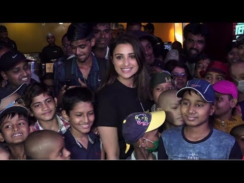 Parineeti Chopra Host Screening Of Golmaal Again For Tata Memorial Hospital Kids