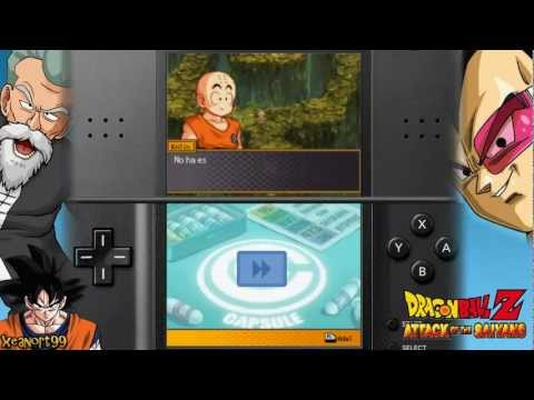 dragon ball z attack of the saiyans nintendo ds download