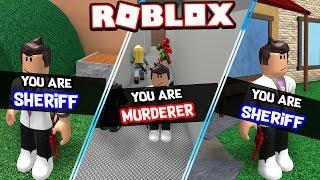 100% SHERIFF & MURDERER ONLY IN ROBLOX MURDER MYSTERY 2 !!! *NEVER INNOCENT*