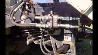 8. UTV Hitchworks - Bobcat Toolcat 5600 C-Series and Earlier Manual Selector Valve Installation