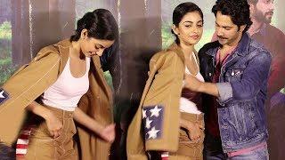 Video Varun Dhawan SAVES October  Actress Banita Sandhu From OOPS Moment In Public MP3, 3GP, MP4, WEBM, AVI, FLV Maret 2018