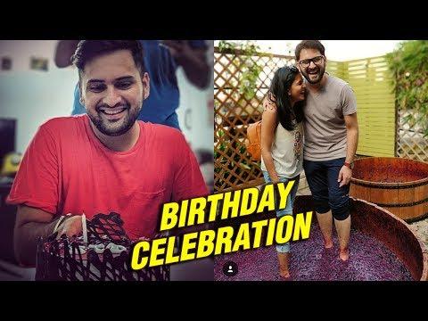 Siddharth Chandekar Birthday Celebration | Marathi Actor | Gulabjaam |