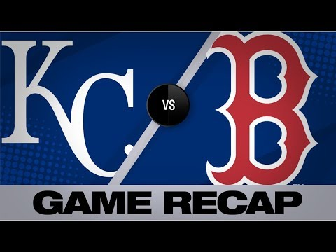 Video: Travis, Devers back Porcello in win | Royals-Red Sox Game Highlights 8/5/19