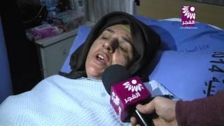 بالفيديو : مواطنة في طولكرم تحرق نفسها أمام مديرية الشرطة