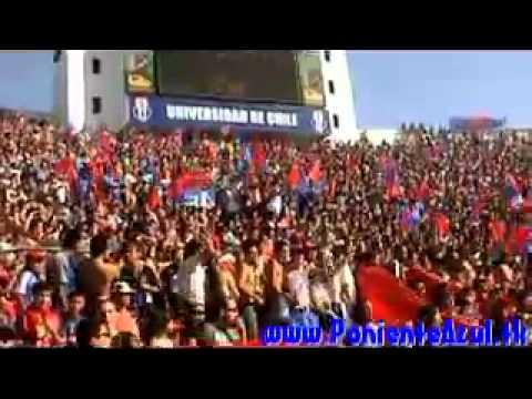 Video - el bulla va caminando para pedreros LDA - Los de Abajo - Universidad de Chile - La U - Chile