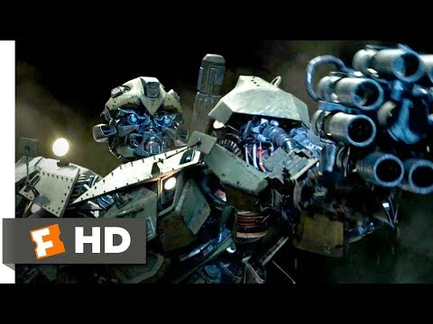 Transformers: The Last Knight (2017) - Bumblebee Hates Nazis Scene (4/10) | Movieclips